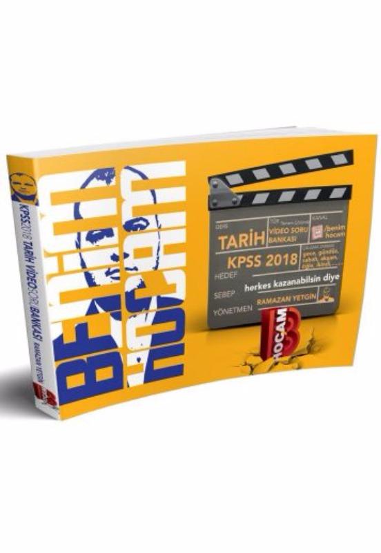 Benim Hocam Yayınları Ramazan Yetgin  KPSS Tarih Tamamı Çözümlü Video Soru Bankası