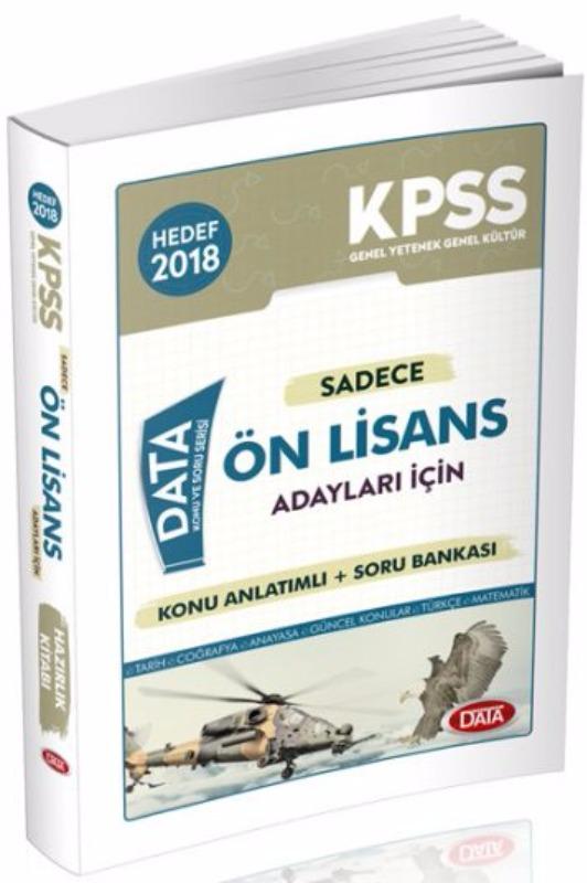 KPSS Sadece Ön Lisans Adayları İçin Konu Anlatımlı Soru Bankası Data Yayınları