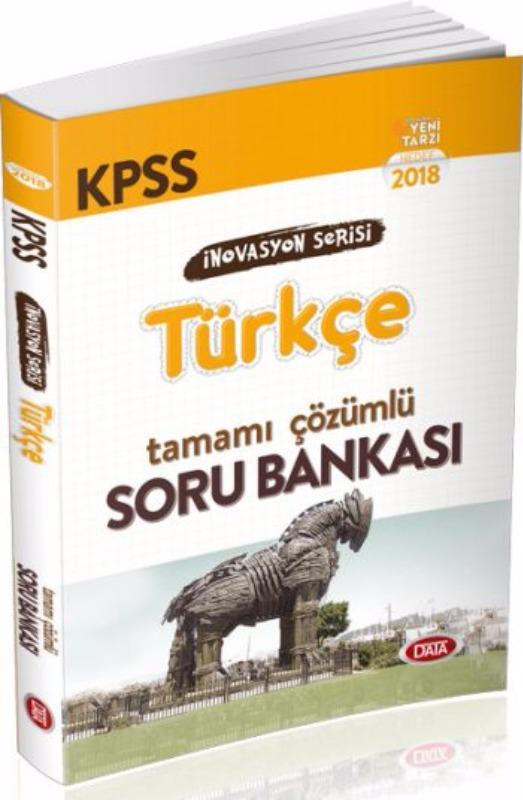 KPSS İnovasyon Serisi Türkçe Tamamı Çözümlü Soru Bankası Data Yayınları