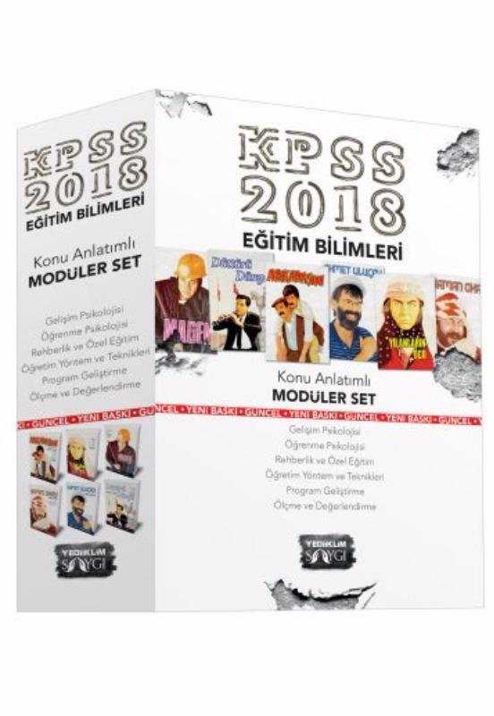KPSS Eğitim Bilimleri Konu Anlatımlı Modüler Set Yediikim Yayınları 2018