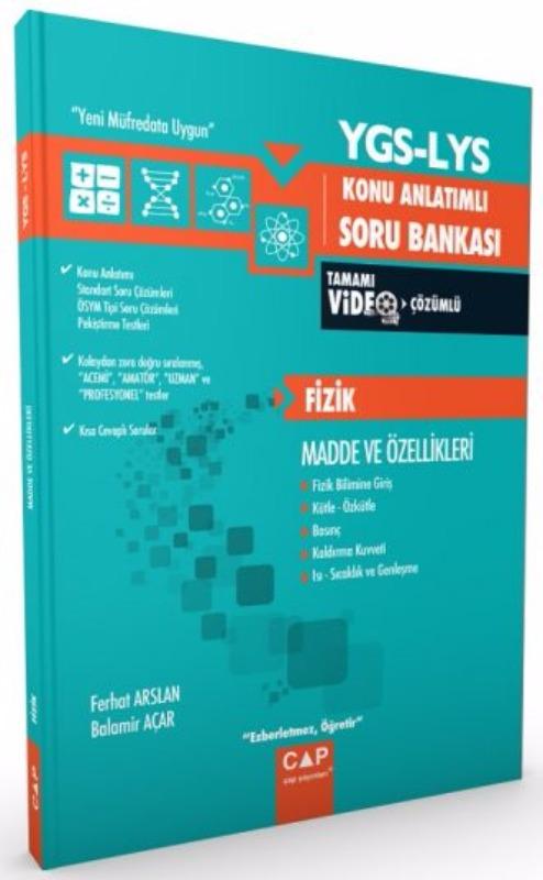 Çap Yayınları YGS LYS Fizik Konu Anlatımlı Soru Bankası