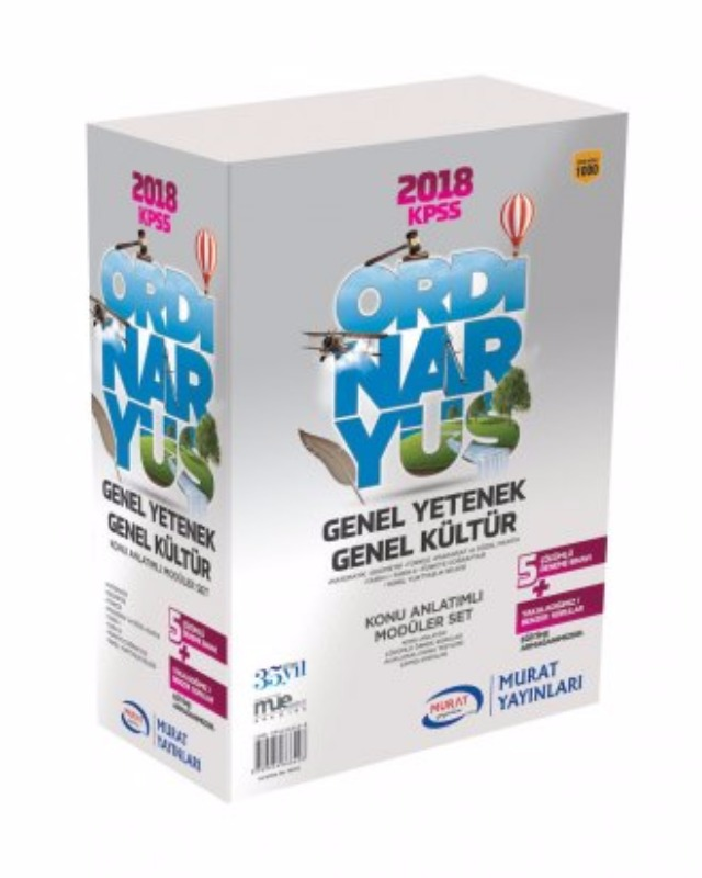 Ordinaryüs Modüler Set Genel Kültür Genek Yetenek Set Murat Yayınları