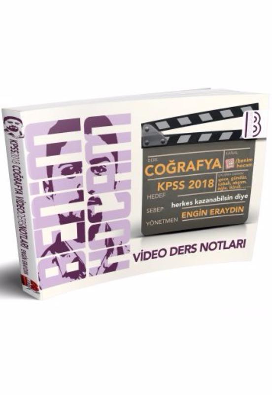 Kpss Coğrafya Video Ders Notları Benim Hocam Yayınları 2018