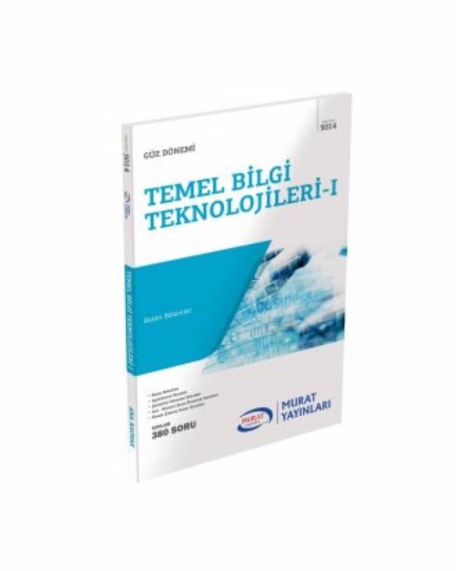 Temel Bİlgi Teknolojileri 1 Kod-5014 Murat Yayınları