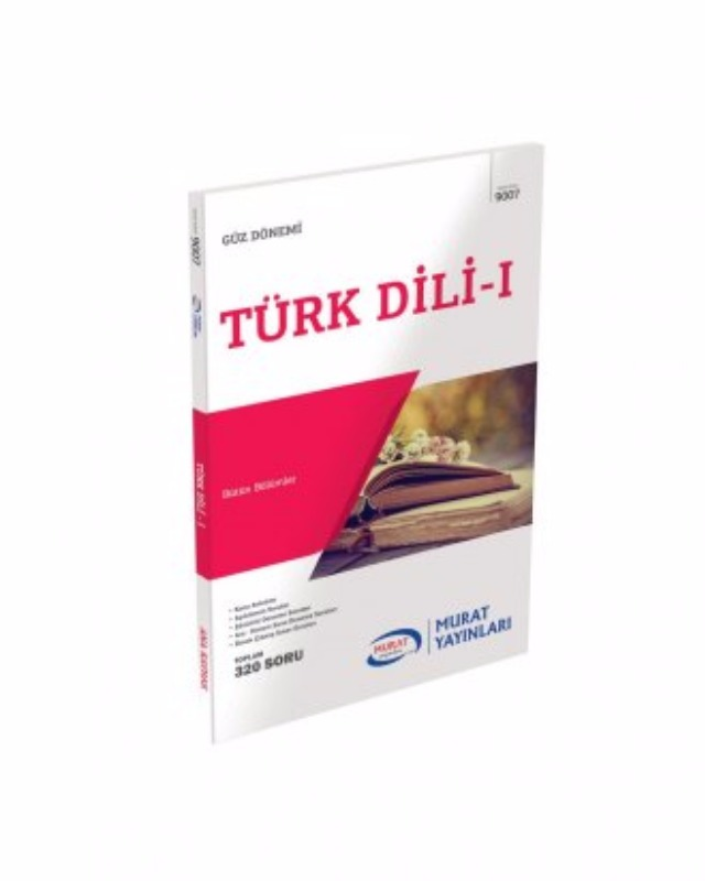 9007  Türk Dili  1 Murat Yayınları