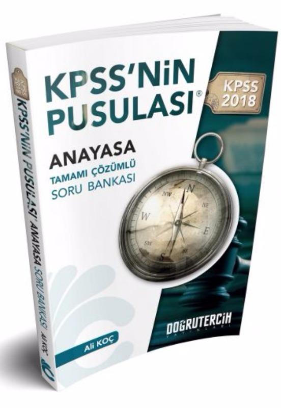 KPSS nin Pusulası Vatandaşlık Soru Bankası Doğru Tercih Yayınları 2018