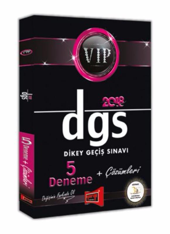 DGS VIP 5 Deneme + Çözümleri Yargı Yayınları 2018