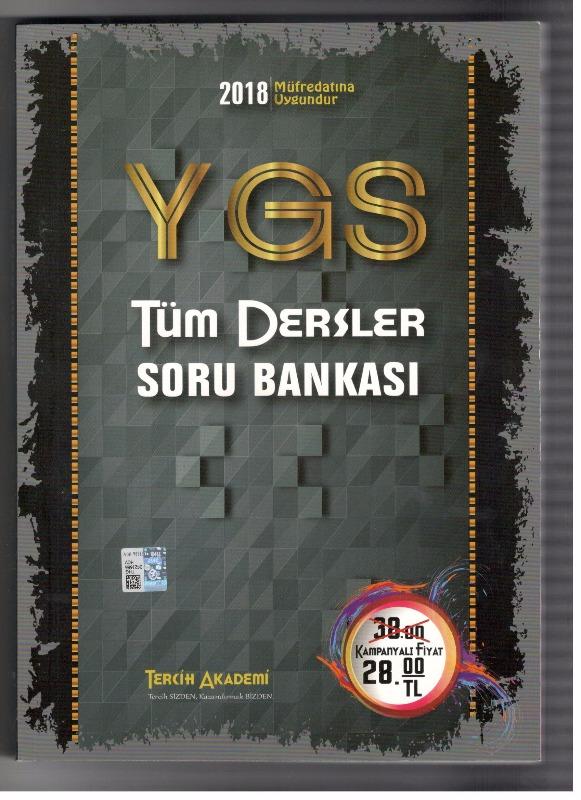 Ygs Tüm Dersler Soru Bankası Tercih Akademi Yayınları