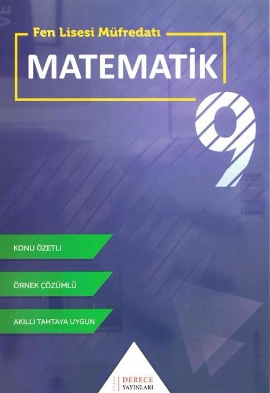 Sonuç Derece Yayınları 9.Sınıf Fen liseleri İçin Matematik Modüler Set