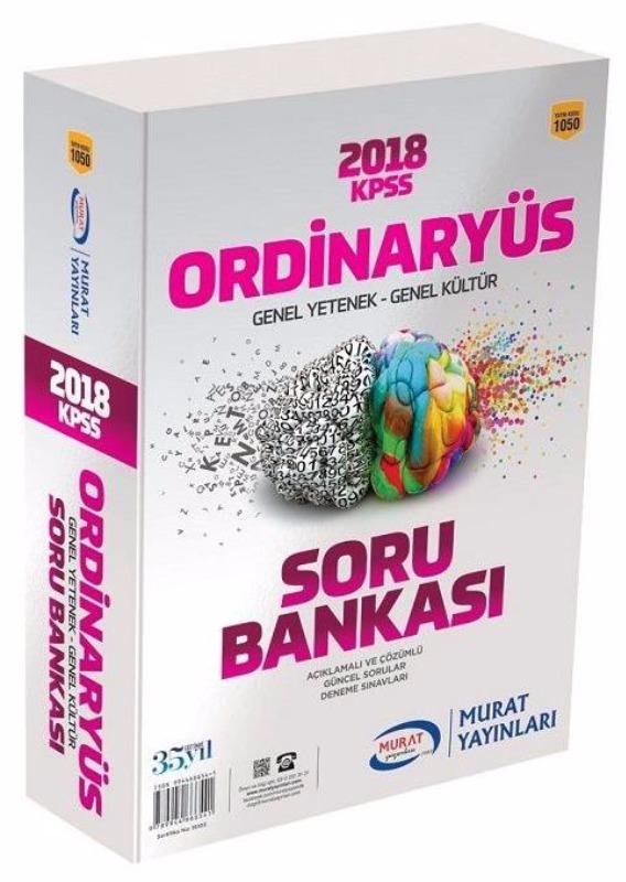 KPSS Genel Yetenek Genel Kültür Ordinaryüs Modüler Soru Bankası  Murat Yayınları