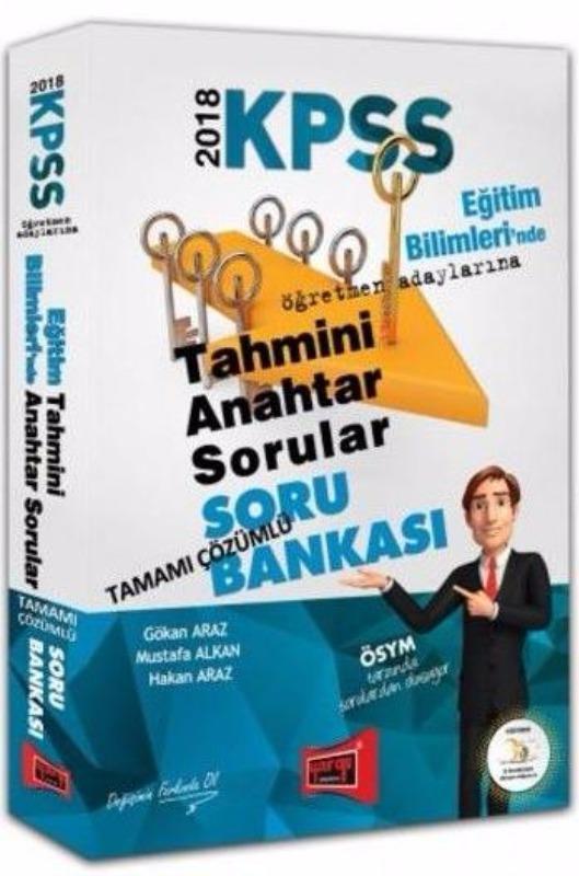 KPSS Eğitim Bilimleri Tahmini Anahtar Sorular Tamamı Çözümlü Soru Bankası Yargı Yayınları 2018