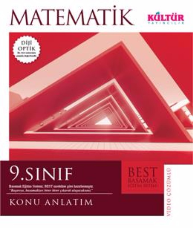 9.Sınıf Matematik Best Konu Anlatımlı Kültür Yayınları