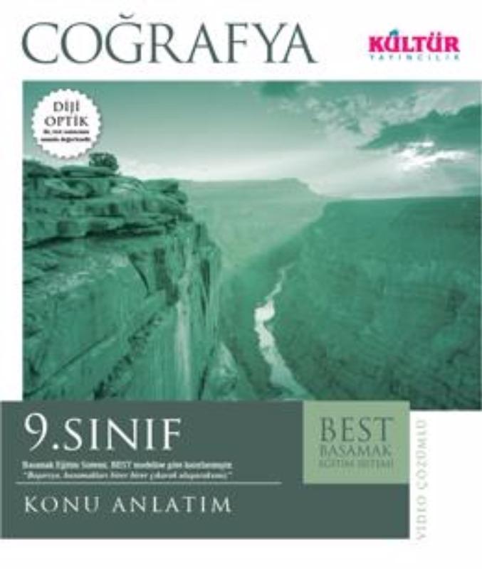 9. Sınıf Coğrafya Best Konu Anlatım Kültür Yayınları