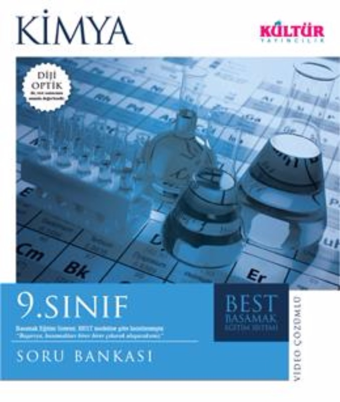 9. Sınıf Kimya Best Soru Bankası Kültür Yayınları