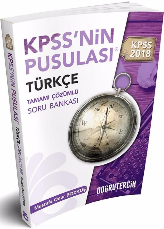 KPSS nin Pusulası Türkçe Tamamı Çözümlü Soru Bankası Doğru Tercih Yayınları