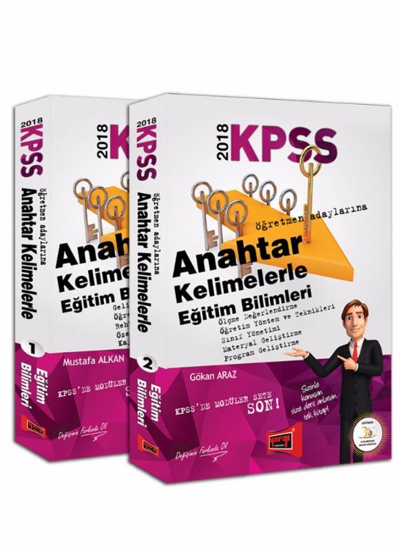 Yargı Yayınları 2018 KPSS Anahtar Kelimelerle Eğitim Bilimleri Konu Anlatımı 2 Kitap