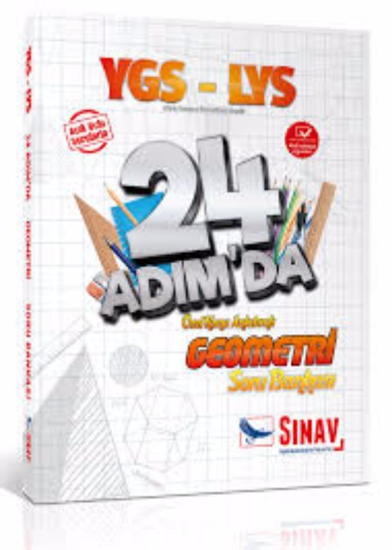 Sınav Yayınları YGS LYS Geometri 24 Adımda Özel Konu Anlatımlı Soru Bankası