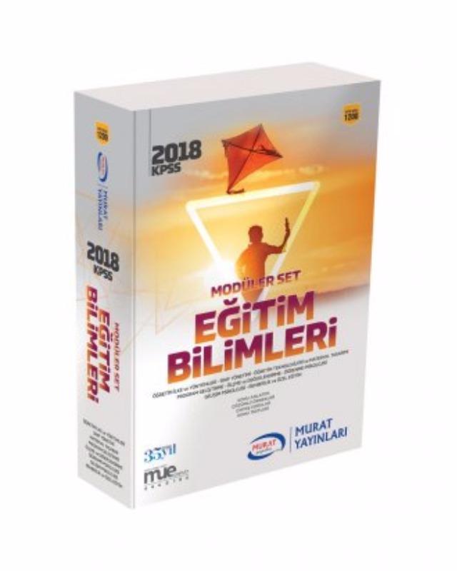 Modüler Set Eğitim Bilimleri Murat Yayınları