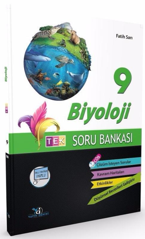 Yayın Denizi 9. Sınıf TEK Biyoloji Soru Bankası