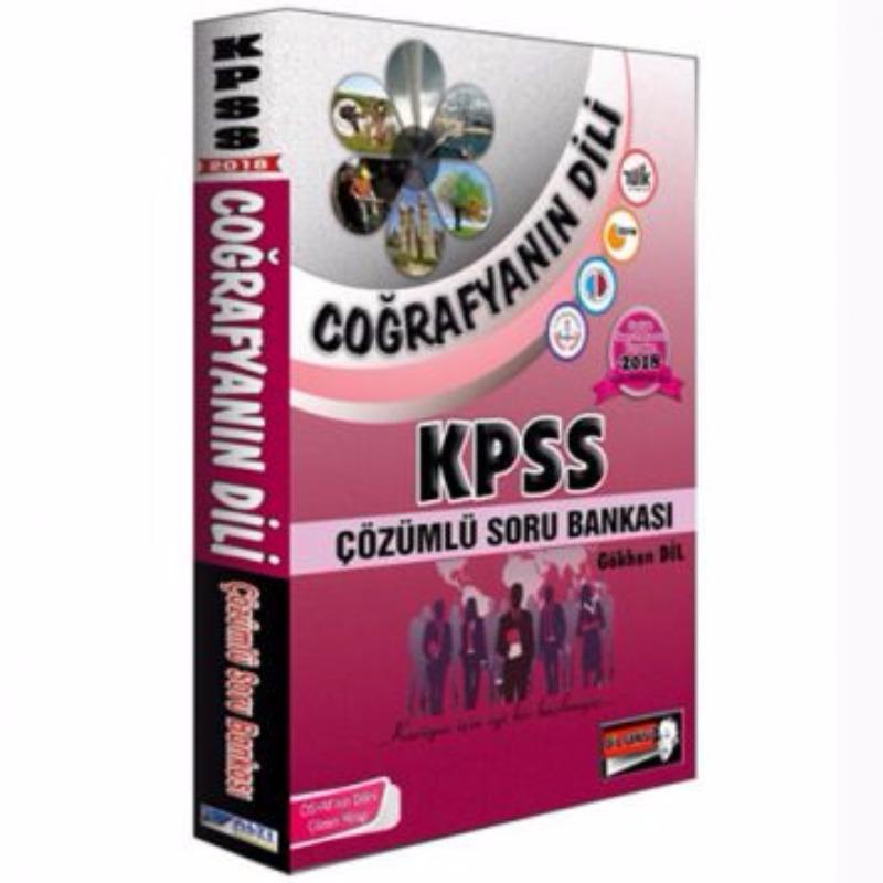 Altı Şapka Yayınları KPSS Coğrafyanın Dili Tamamı Çözümlü Soru Bankası