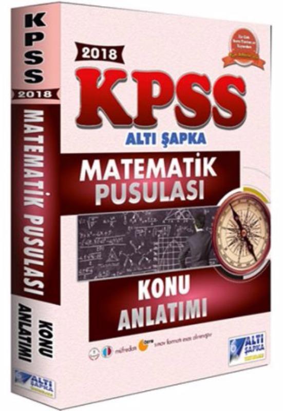 Altı Şapka Yayınları  KPSS Matematik Pusulası Konu Anlatımlı
