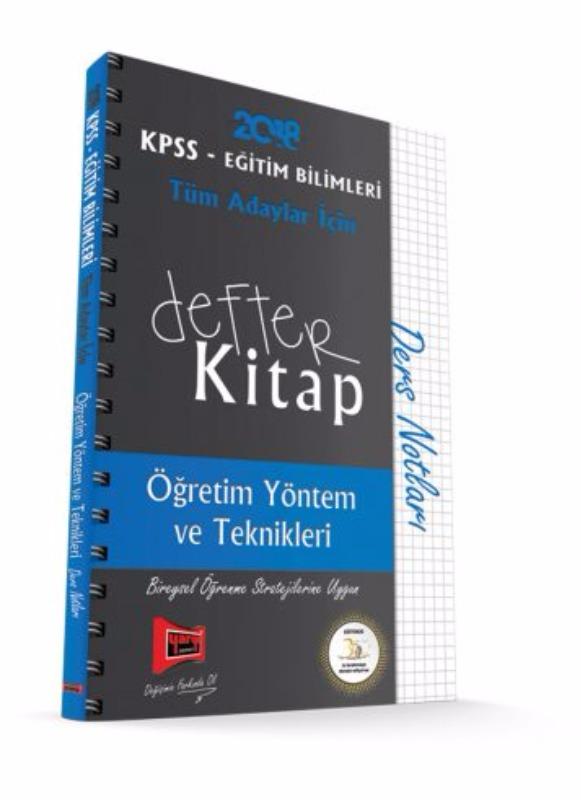 KPSS Eğitim Defter Kitap Öğretim Yöntem ve Teknikleri Ders Notları Yargı Yayınları