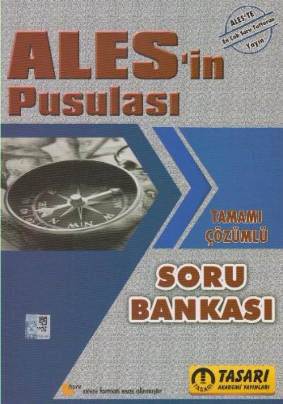 Tasarı Yayınları  ALES in Pusulası Tamamı Çözümlü Soru Bankası