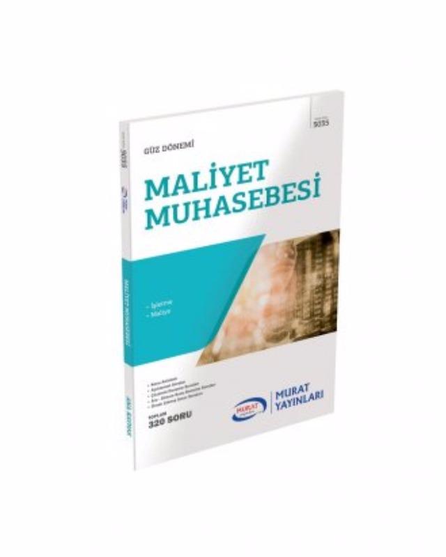3. Sınıf 5. Yarıyıl Maliyet (Kod 5035) Murat Yayınları
