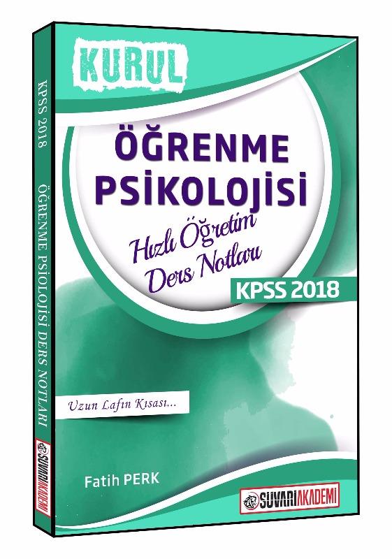 Süvari Akademi KPSS Eğitim Bilimleri Öğrenme Psikolojisi Hızlı Öğretim Ders Notları