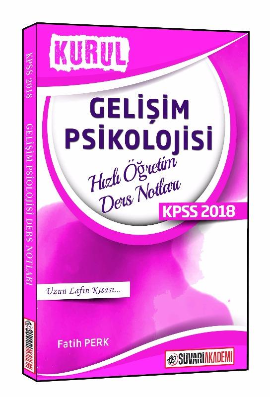 Süvari Akademi KPSS Eğitim Bilimleri Gelişim Psikolojisi Hızlı Öğretim Ders Notları