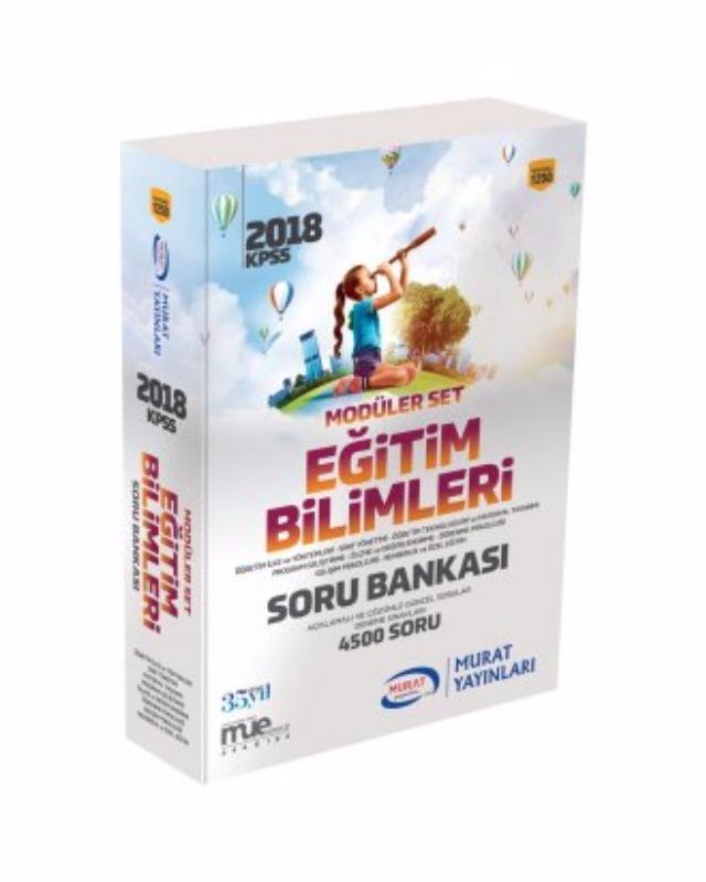 Murat Yayınları Eğitim Bilimleri Modüler Set Soru Bankası