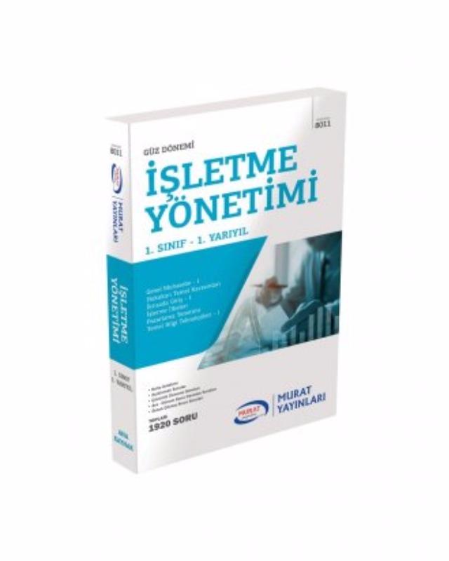 1. Sınıf 1. Yarıyıl İşletme Yönetimi (Kod 8011) Murat Açıköğretim Yayınları