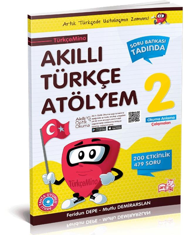 Arı Yayınları 2.sınıf Türkçemino Akıllı Türkçe Atölyem