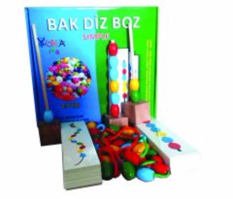 Bak - Diz - Boz (Simple) YukaToys Yayınları
