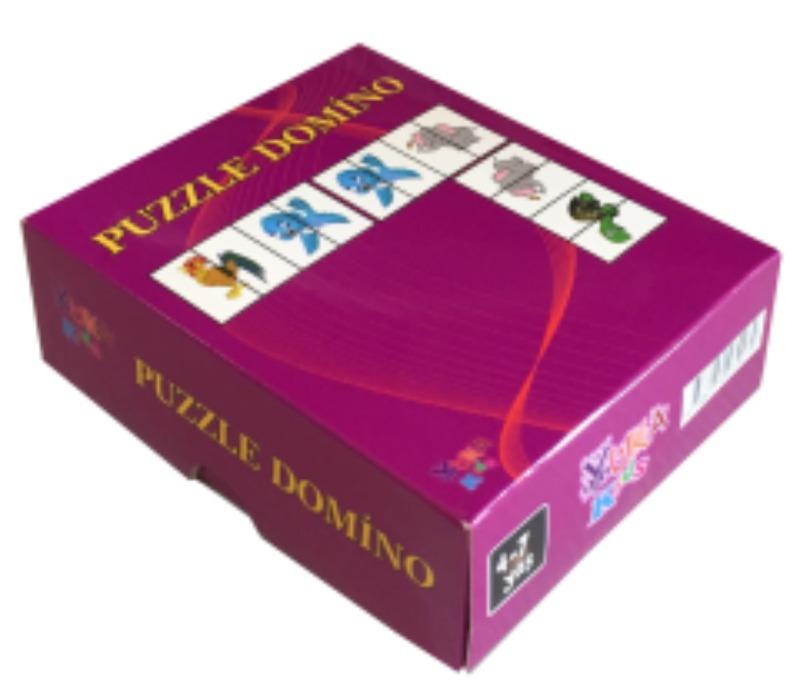 Puzzle Domino Yukatoys Yayınları