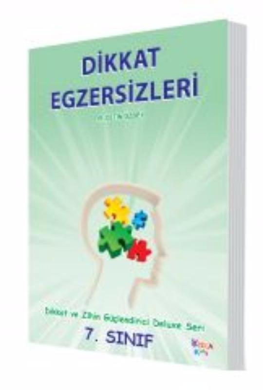 Dikkat Egzersizleri 7. Sınıf (Dikkat ve Zihin güçlendirci Deluxe Seri) Yukatoys Yayınları