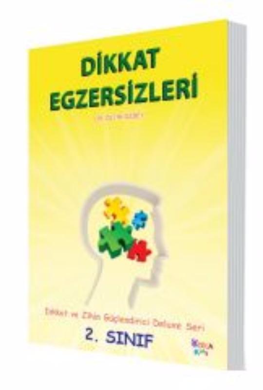Dikkat Egzersizleri 2. Sınıf (Dikkat ve Zihin güçlendirci Deluxe Seri) Yukatoys Yayınları