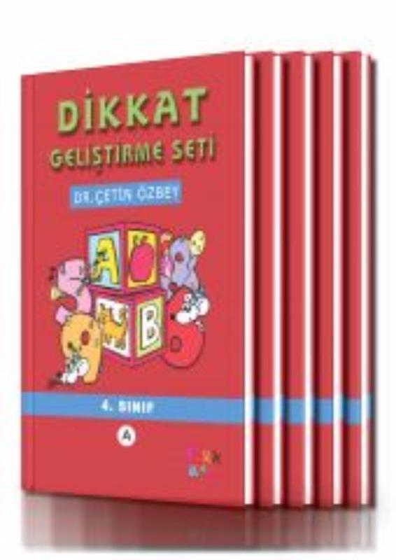 Dikkat Geliştirme - 4.Sınıf (10 yaş) YukaToys Yayınları