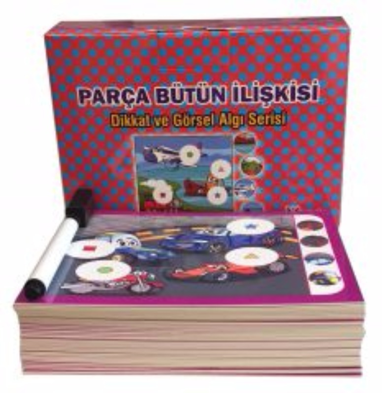 Parça Bütün İlişkisi (3-6 yaş) Yukatoys Yayınları