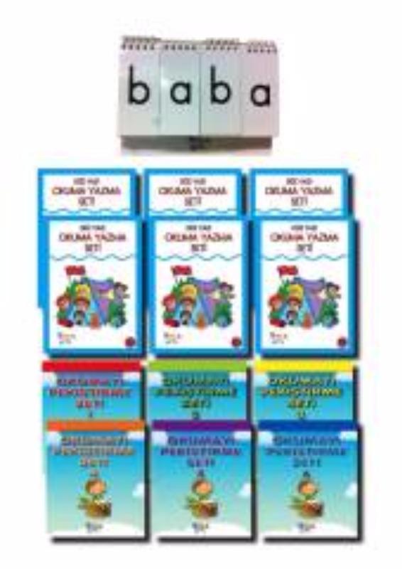 Özel Eğitime Muhtaç Çocuklar İçin Okuma Yazma Seti Yukatoys Yayınları