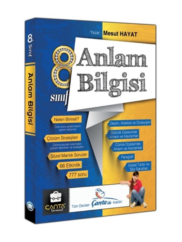 8. Sınıf Anlam Bilgisi Soru Bankası Çanta Yayınları