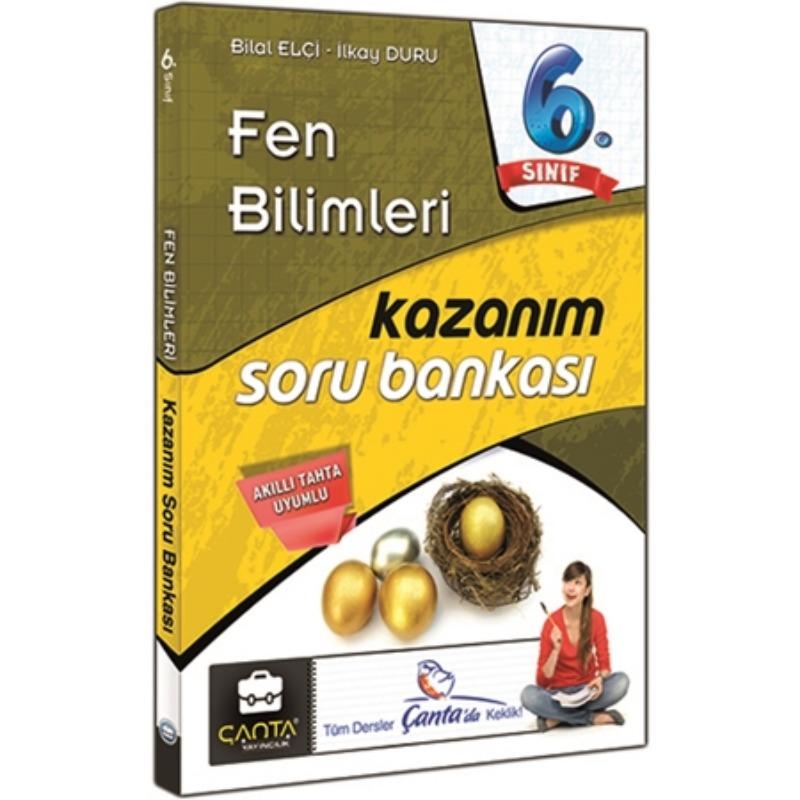 6. Sınıf Fen Bilimleri Kazanım Soru Bankası Çanta Yayınları