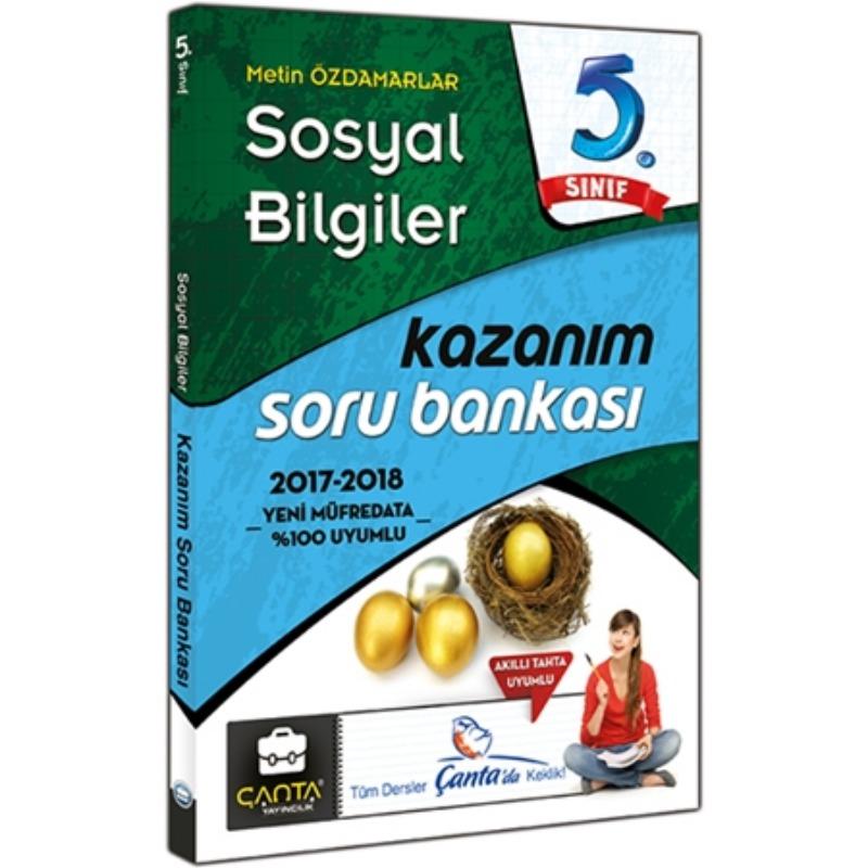 5. Sınıf Sosyal Bilgiler Kazanım Soru Bankası Çanta Yayınları