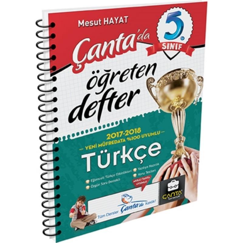 5. Sınıf Türkçe Öğreten Defter Çanta Yayınları