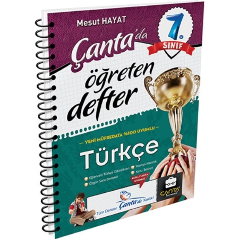 7. Sınıf Öğreten Defter Türkçe Çanta Yayınları