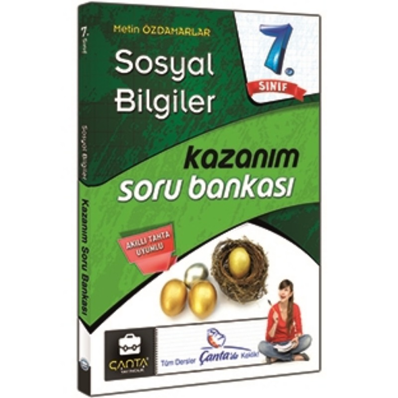 7. Sosyal Bilgiler Kazanım Soru Bankası Çanta Yayınları