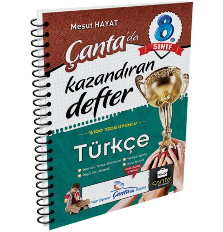 8.Sınıf Türkçe Kazandıran Defter Çanta Yayınları