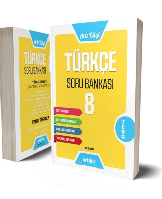 8.Sınıf Türkçe Soru Bankası Artıbir Yayınları