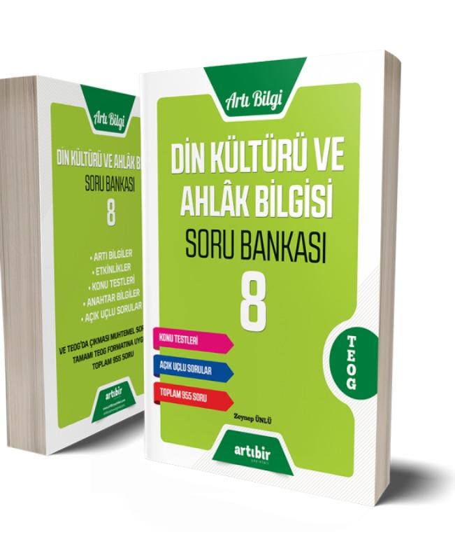8.Sınıf Din Kültürü Ve Ahlak Bilgisi Soru Bankası Artıbir Yayınları