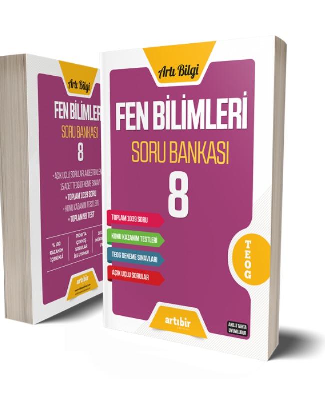 8.Sınıf Fen Bilimleri Soru Bankası Artıbir Yayınları